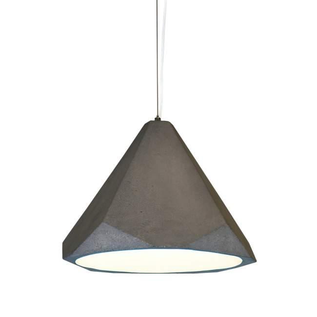 Lampa wisząca Innermost Portland Ø 37 cm, beton