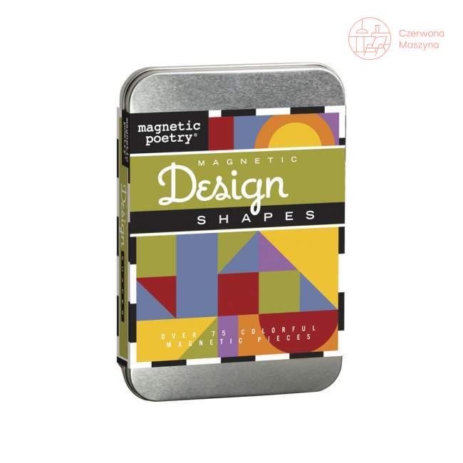 Zestaw magnesów Magnetic Poetry Magnetic Design Shapes