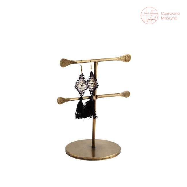 Stojak na biżuterię Madam Stoltz, 12,5 cm, złoty