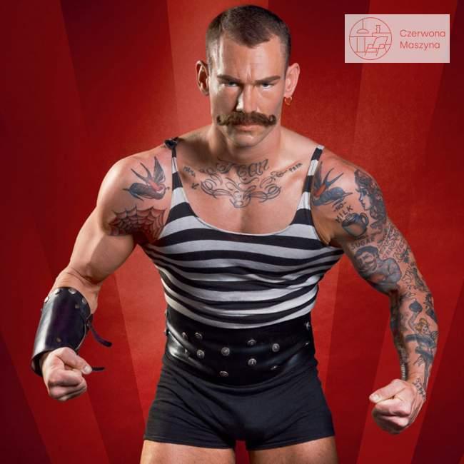 Dziadek do orzechów Officina Alessi Circus Strongman