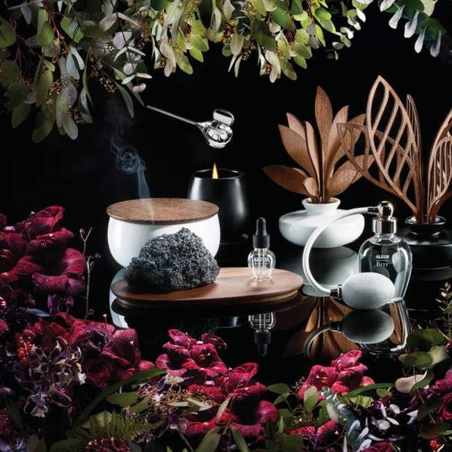 Świeca zapachowa Alessi The Five Seasons Ø 14,5 cm Brrr