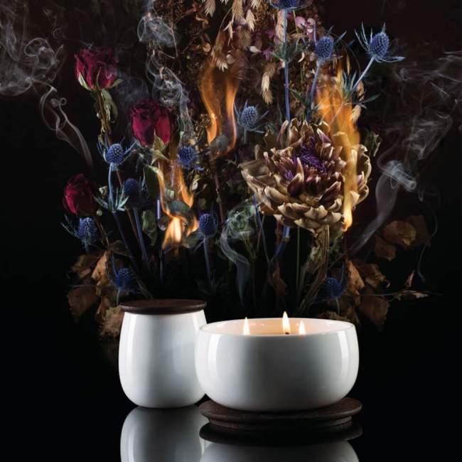 Świeca zapachowa Alessi The Five Seasons Ø 14,5 cm Ahhh