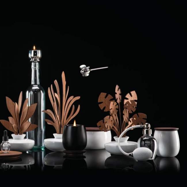 Świeca zapachowa Alessi The Five Seasons Ø 8,5 cm Shhh