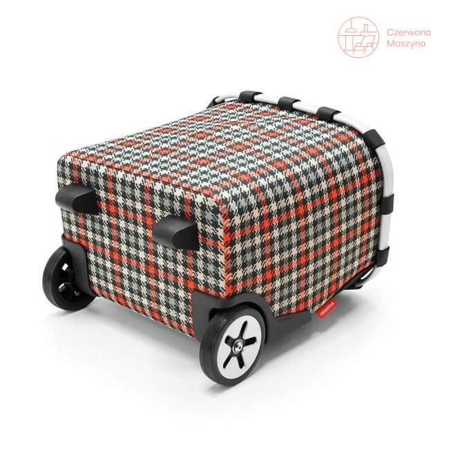 Wózek na zakupy Reisenthel Carrycruiser 40 l, glencheck red