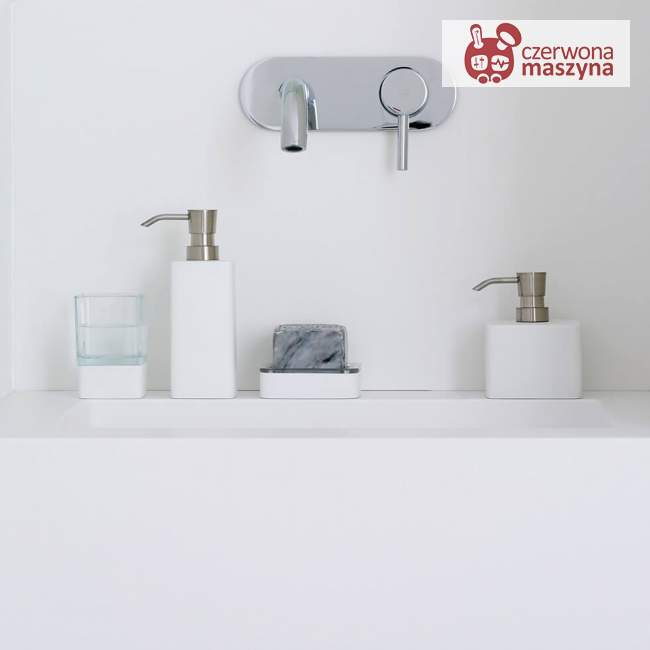 Dozownik do mydła Aquanova ONA 190 ml, white