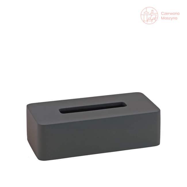 Pudełko na chusteczki Aquanova ONA dark grey
