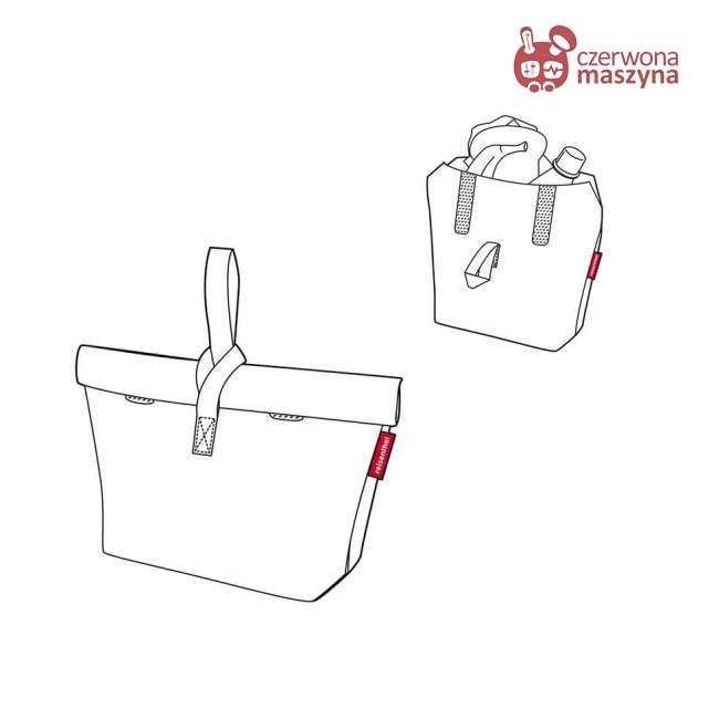 Torba termiczna na lunch Reisenthel Fresh Lunchbag Iso M 7 l, red