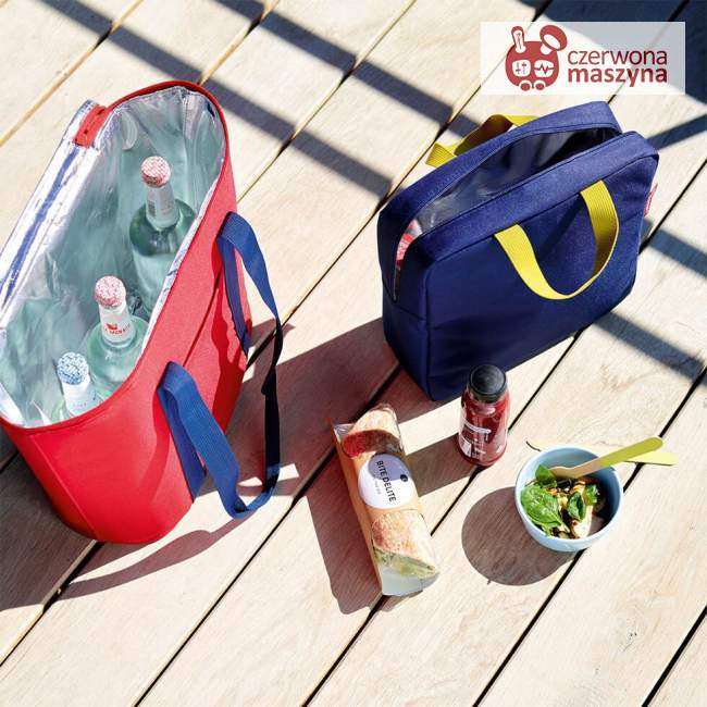 Torba termiczna na lunch Reisenthel Fresh Foodbox Iso M 4 l, red