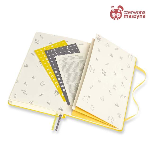 Notes Moleskine Passion, Journal Baby, 400 stron