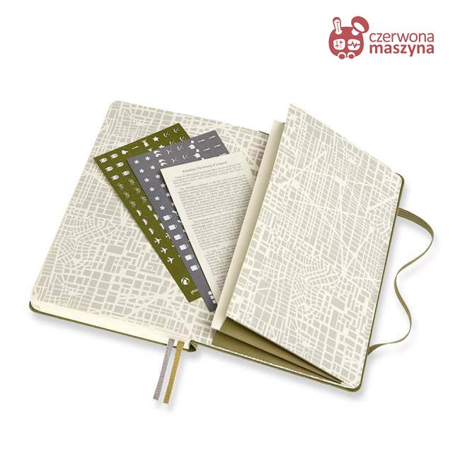 Notes Moleskine Passion Journal Travel, 400 stron