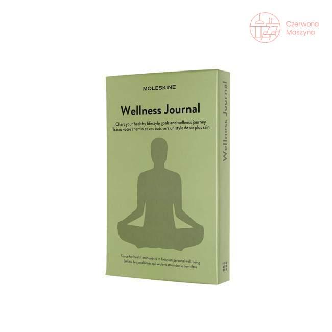 Notes Moleskine Passion Journal Wellness, 400 stron
