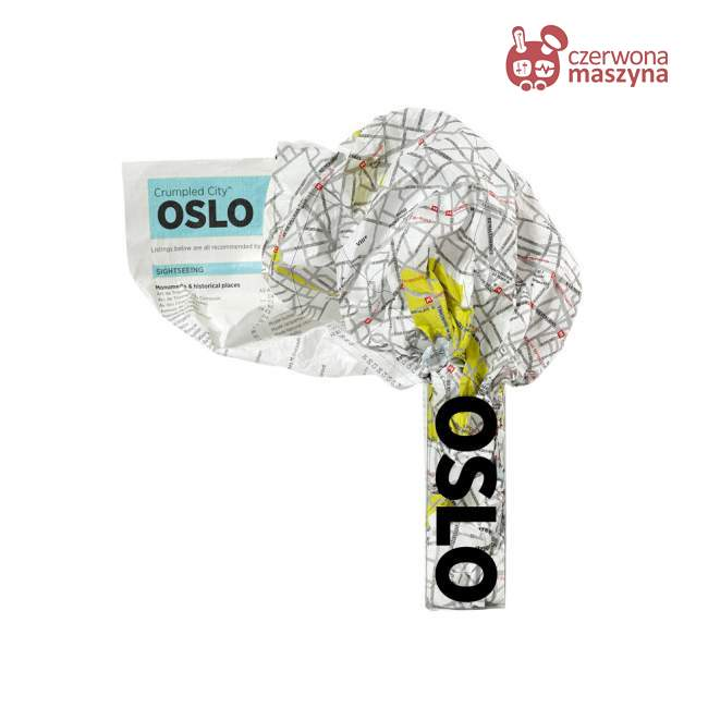 Mapa Palomar Crumpled City Oslo