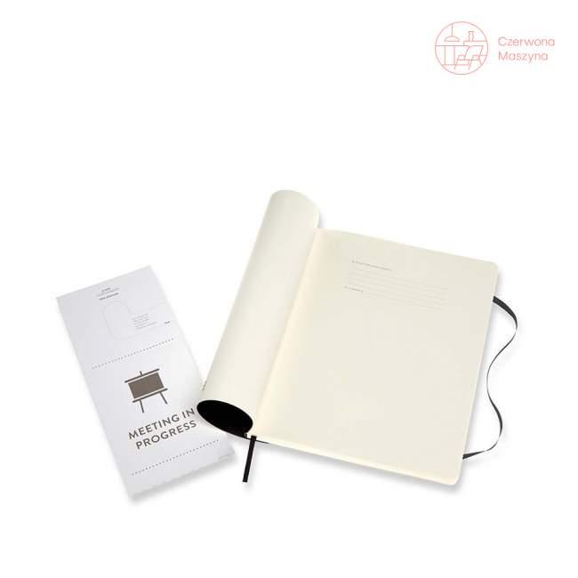 Notes Moleskine PROFESSIONAL XL, twarda oprawa, 192 strony, czarny