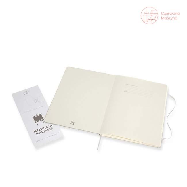 Notes Moleskine PROFESSIONAL XL, twarda oprawa, 192 strony, pearl grey