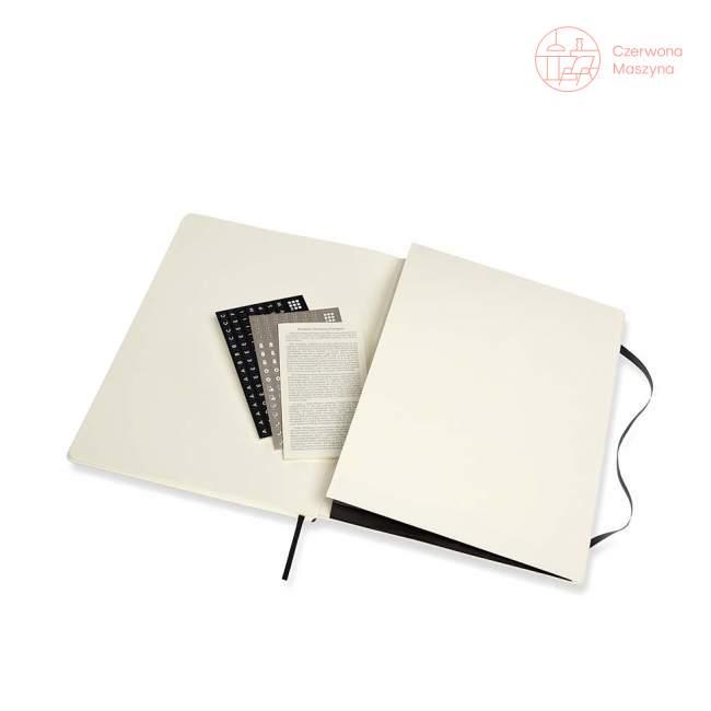 Notes Moleskine PROFESSIONAL XXL, miękka oprawa, 192 strony, czarny
