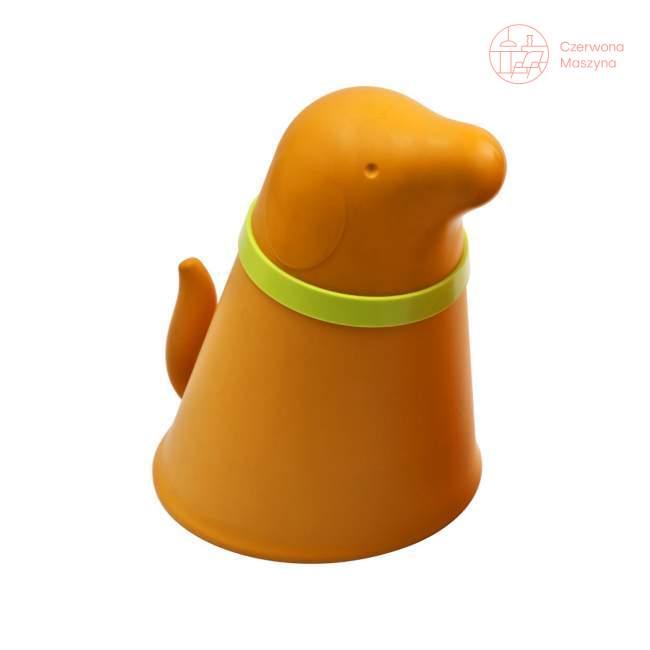 Pojemnik z miską dla psa Qualy pomarańczowy