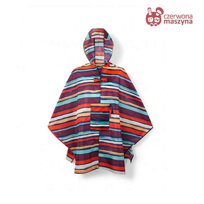 Peleryna Reisenthel, Mini Maxi Poncho, artist stripes
