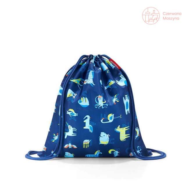 Worek / plecak dziecięcy Reisenthel Mysac Kids abc friends blue
