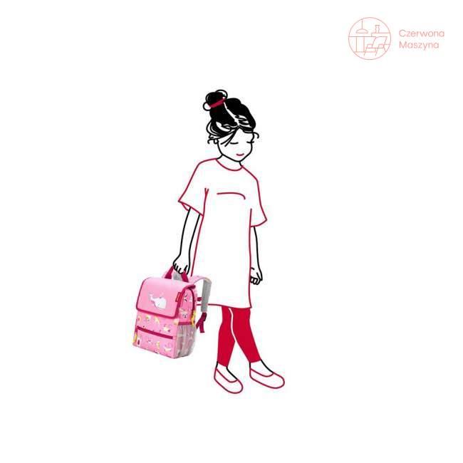 Plecak dziecięcy Reisenthel Backpack Kids abc friends pink