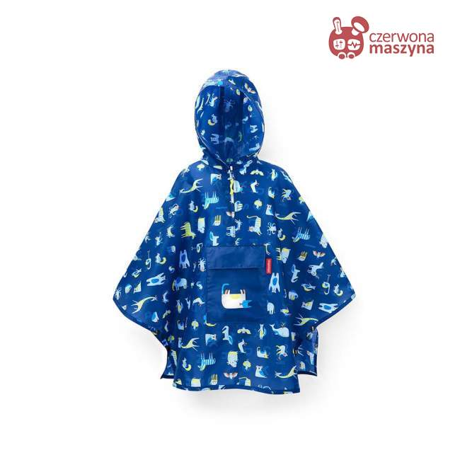 Peleryna Reisenthel Kids Mini Maxi Poncho M abc friends blue