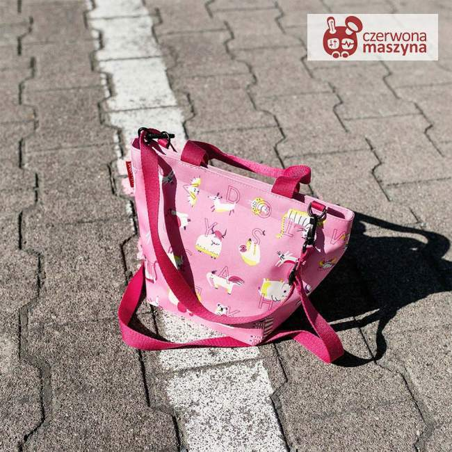 Torba Reisenthel Shopper XS Kids abc friends pink