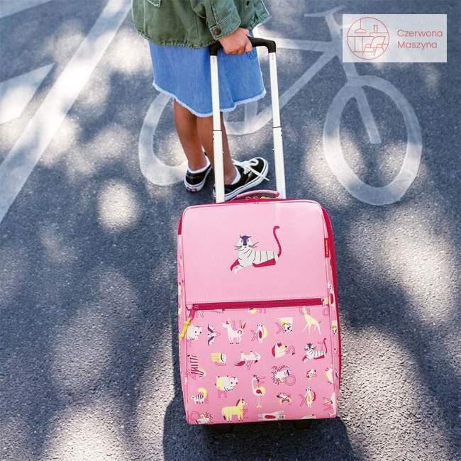 Walizka Reisenthel Trolley XS Kids abc friends pink