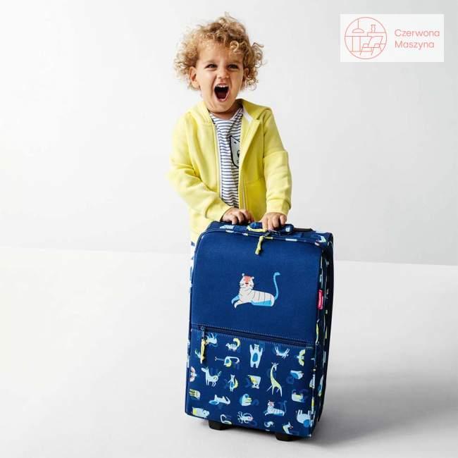Walizka Reisenthel Trolley XS Kids abc friends blue