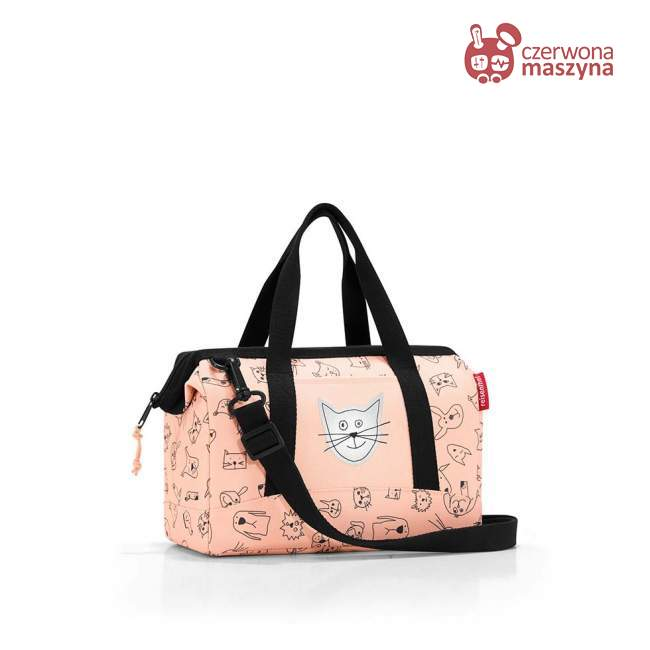 Torba Reisenthel Allrounder XS Kids cats and dogs rose