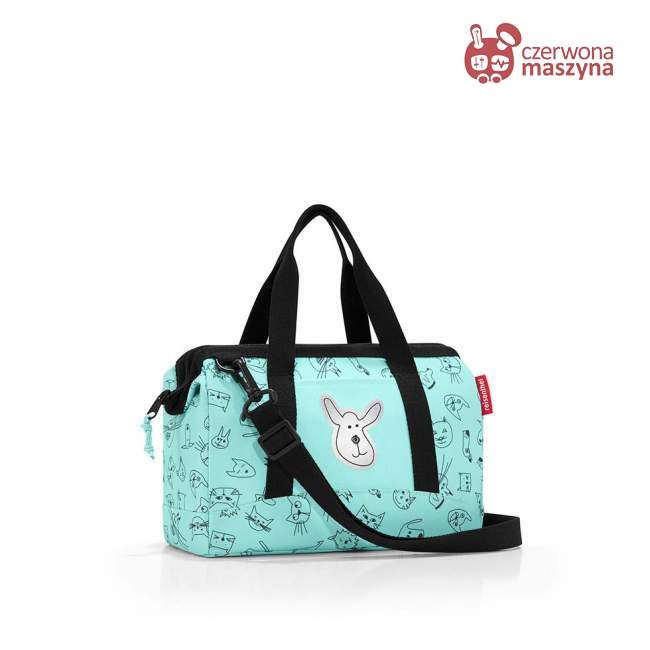 Torba Reisenthel Allrounder XS Kids cats and dogs mint