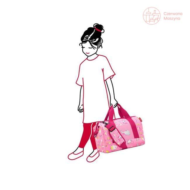 Torba Reisenthel Allrounder M Kids abc friends pink