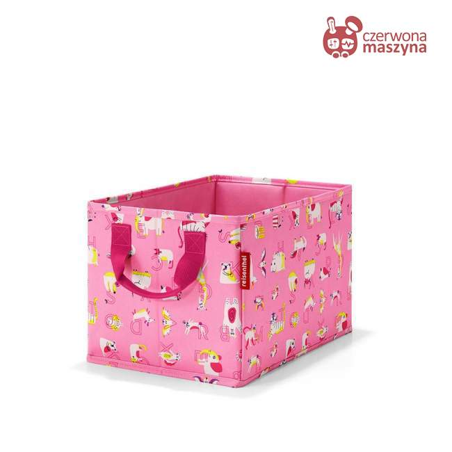 Pudełko Reisenthel Storagebox Kids cats and dogs pink