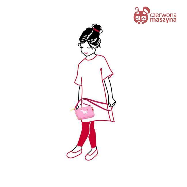 Torebka Reisenthel Itbag Kids abc friends pink