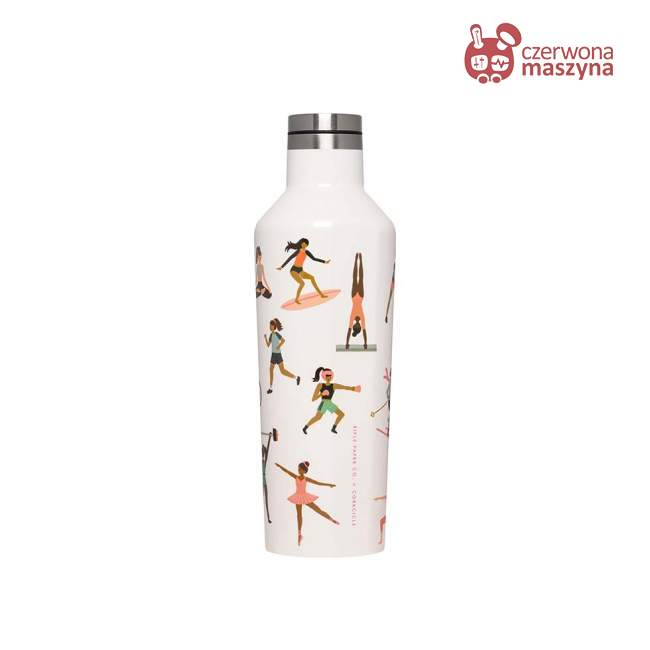 Butelka termiczna Corkcicle Rifle Paper - Sport Girls 475 ml