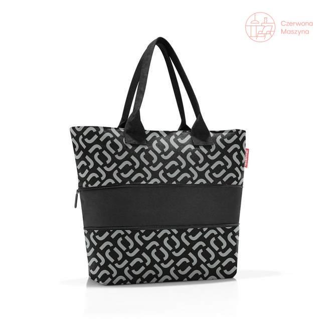 Torba shopper e1 Reisenthel, signature black 18 l