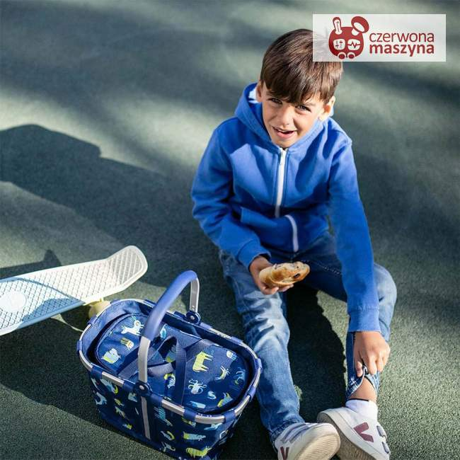 Torba termiczna Reisenthel Coolerbag XS Kids abc friends blue