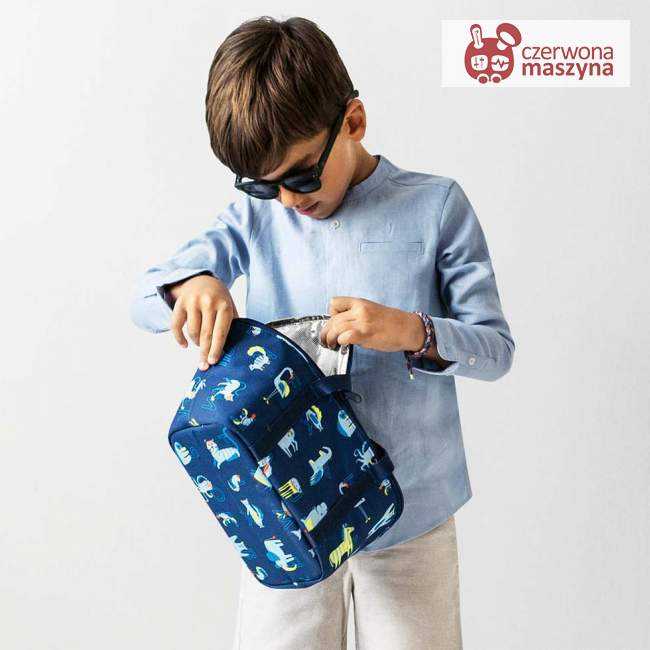 Torba termiczna Reisenthel Coolerbag XS Kids abc friends blue