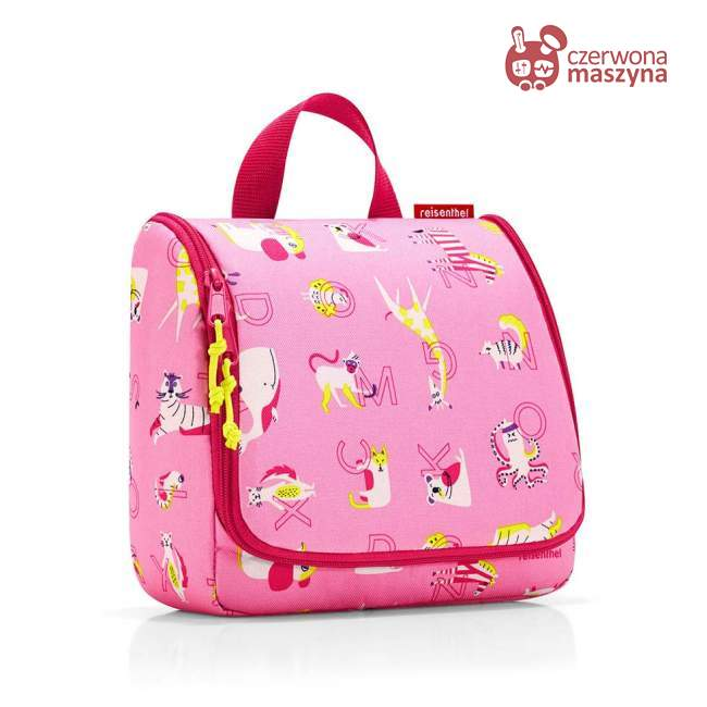 Kosmetyczka Reisenthel Toiletbag Kids abc friends pink