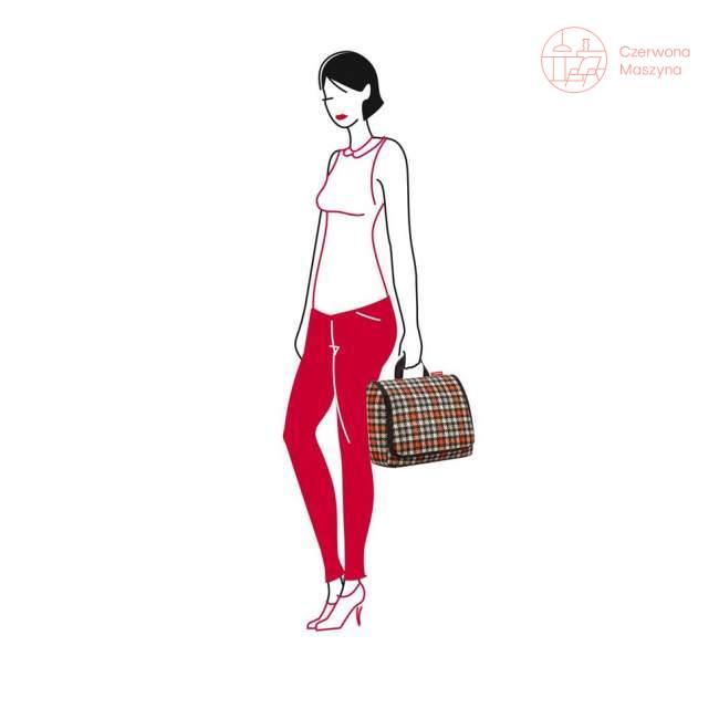 Kosmetyczka Reisenthel Toiletbag XL 6 l glencheck red