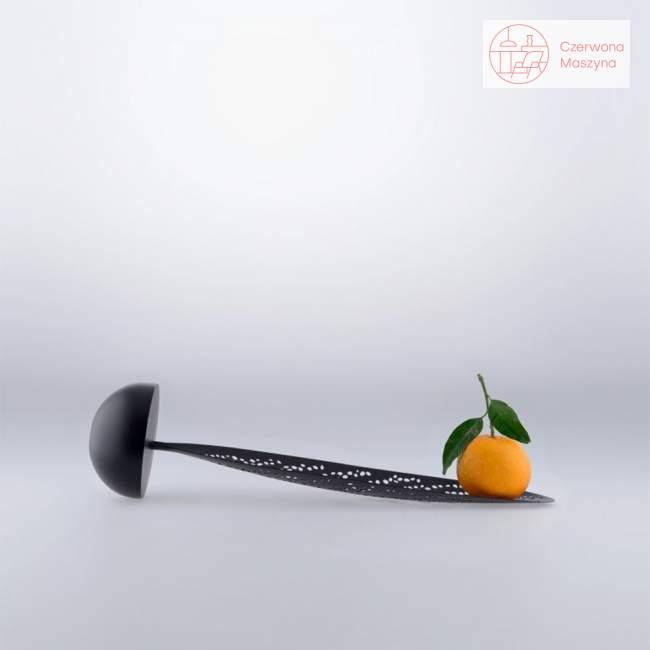 Podstawka na owoce Alessi Lovely Breeze, czarna