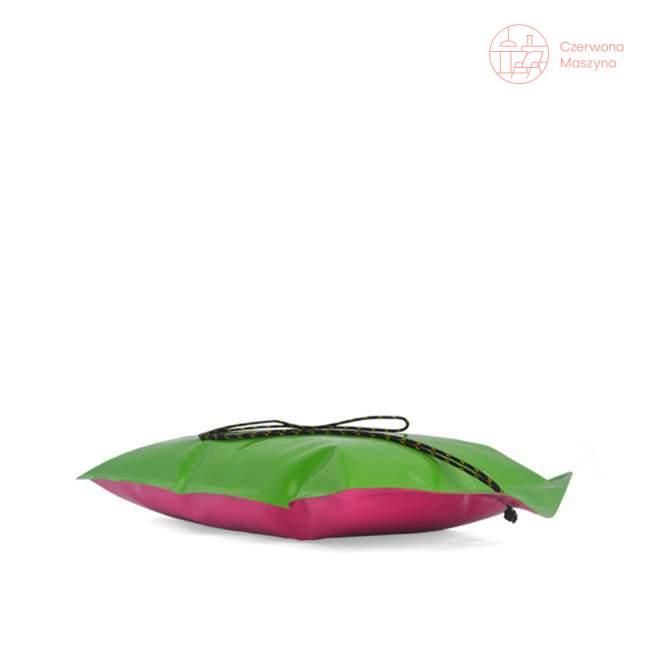 Poduszka outdoorowa Telesforki, zielono-różowa, Kto to kupi