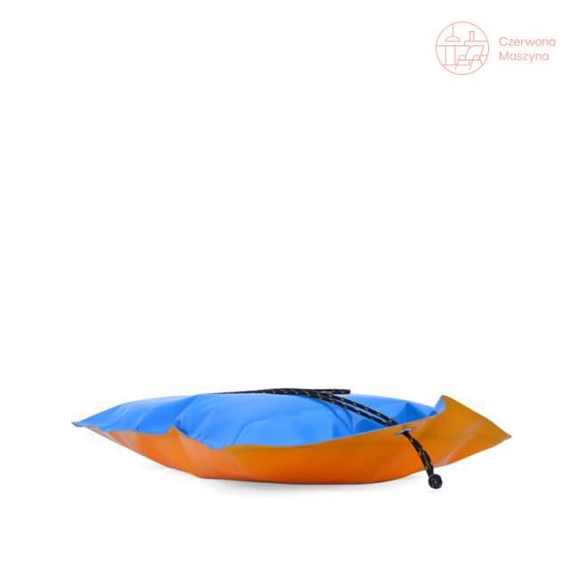 Poduszka outdoorowa Telesforki, pomarańczowo-niebieska, Kto to kupi
