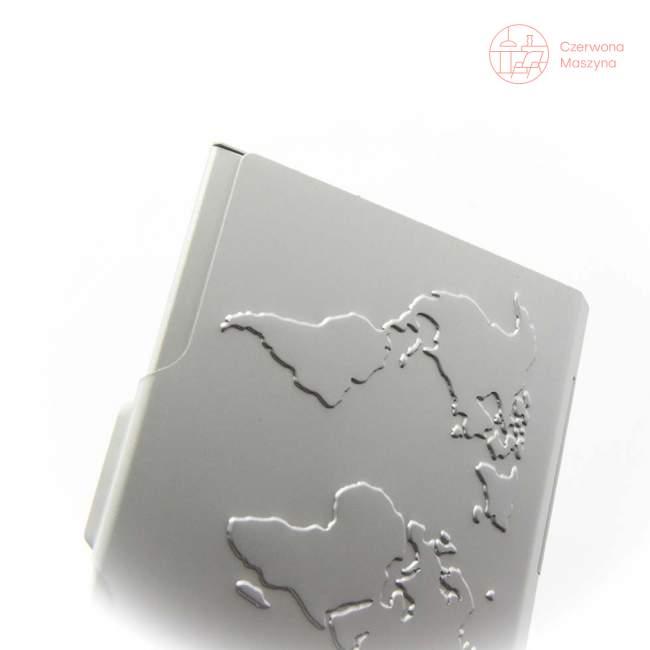 Wizytownik Troika Global Contacts srebrne