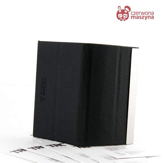 Wizytownik Troika Card Stand czarne