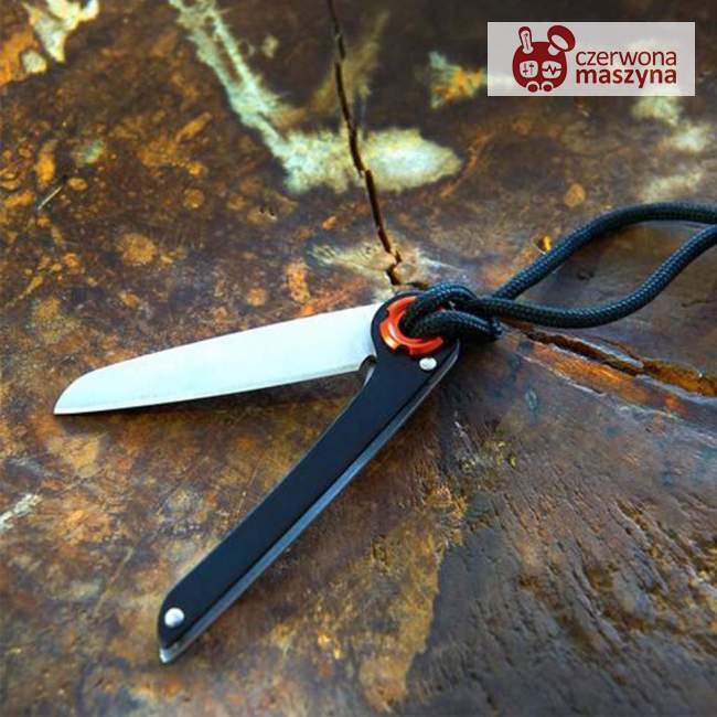 Nóż kieszonkowy Troika Tukan czarny