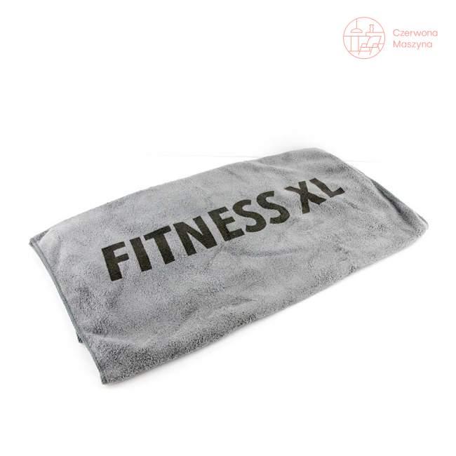 Ręcznik treningowy Troika jasno szary