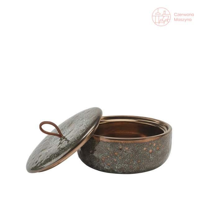 Pojemnik z pokrywką Aquanova Ugo, vintage bronze