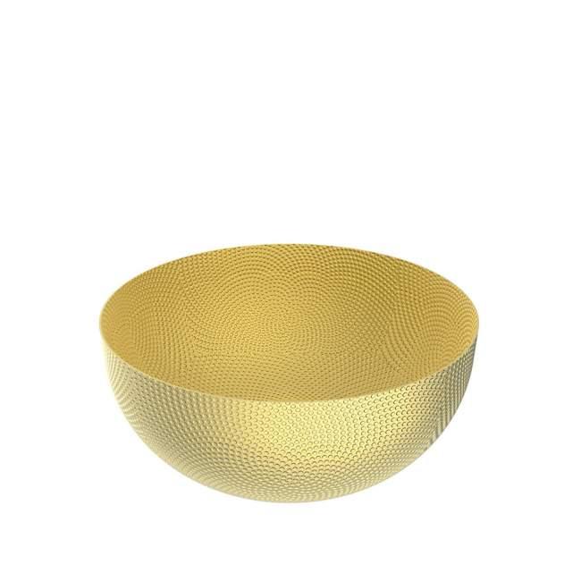 Misa Alessi Ufficio Tecnico Ø 21 cm, złota