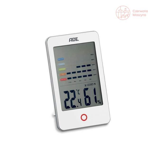 Elektroniczny higrometr ADE, biały