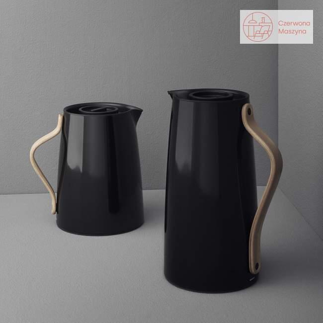 Dzbanek na herbatę Stelton Emma 1 l, czarny