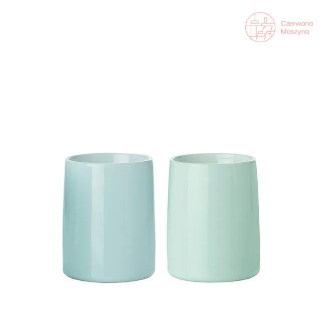 2 Kubki termiczne Stelton Emma 0,25 l, niebieskie